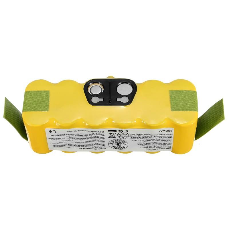 Battery Pack for iRobot Roomba 560 530 510 562 550 570 500 581 610 780 532 770 760 Series 14.4V 2500MAH battery Free shipping(China (Mainland))