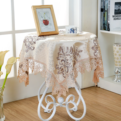 3color Dia.180cm Damask Fabric Tablecloth Refrigerator Towel Round Rectangle Tablecloths Multi-purpose Home Decor(China (Mainland))