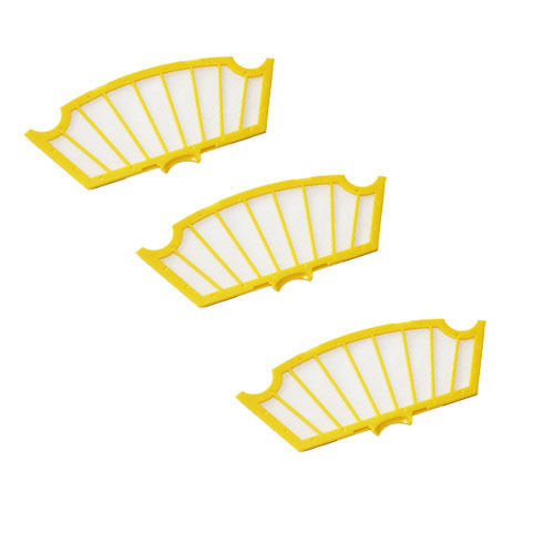 Replace Lot of 3 Filter for iRobot Roomba 500 Series 530 540 550 560 570 580(China (Mainland))