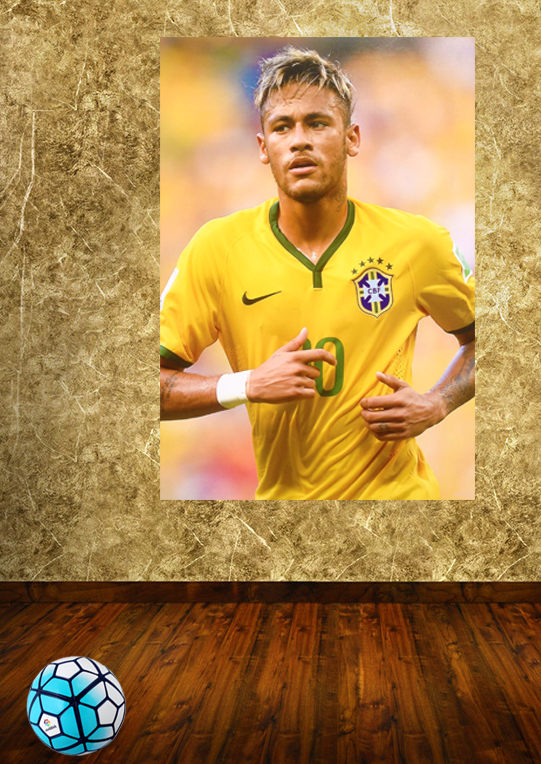 The sitting room is dressed up tothe fashion stickers Omar Brazilian football team World Cup bar decorate festival costumes(China (Mainland))
