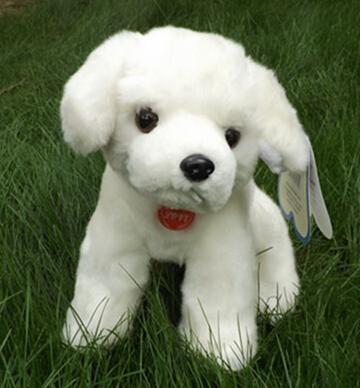 30cm Puppy doll plush toy doll simulation animals dogs(China (Mainland))