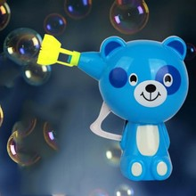 lovely animal Bubble Gun baby toy kids gift Outdoor Toy