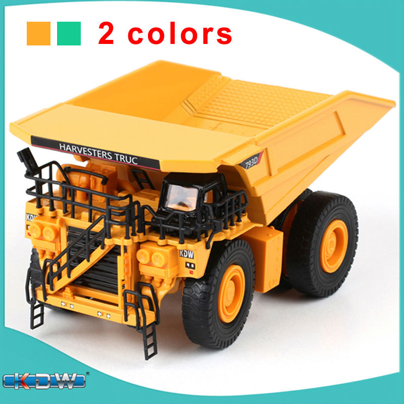 KAIDIWEI Engineering Vehicle 1:75 Scale Large Mining Truck Diecast Alloy Metal Car Model Collect Kids Toy(China (Mainland))