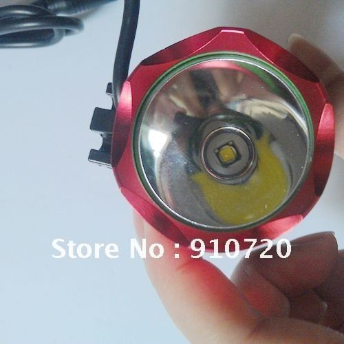 Discount Ship + 5Sets XM-L T6 Bicycle Light CREE T6 1200Lm Waterproof Headlamp+8.4v 4400mAh Battery Pack + Charger