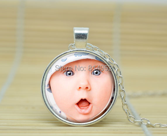 10pcs Custom Photo Necklace, Personalized Keepsake Photo Jewelry, Personalized Necklace Glass Cabochon Necklace A1230<br><br>Aliexpress