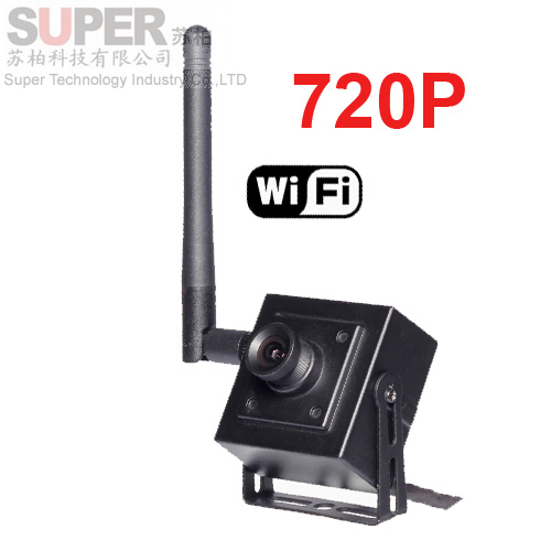 option 2.8-12mm Lens H.264 wifi camera P2P Mini Wifi IP 720P Full Hd Wireless Cctv Security Camera Support Phone - Super Technology Industry Co., LTD store