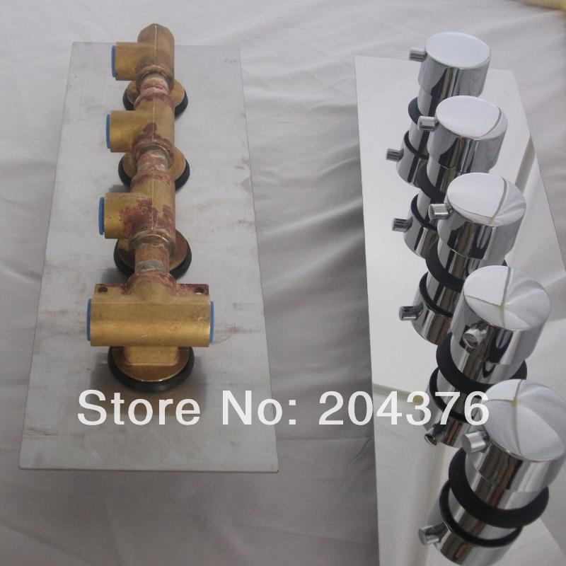 5 fouction shower diverter valve for conceal shower(China (Mainland))