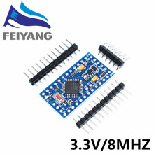 Buy 100pcs/lot Pro Mini 328 Mini 3.3V/8M ATMEGA328 ATMEGA328P-AU 3.3V 8MHz arduino for $161.95 in AliExpress store