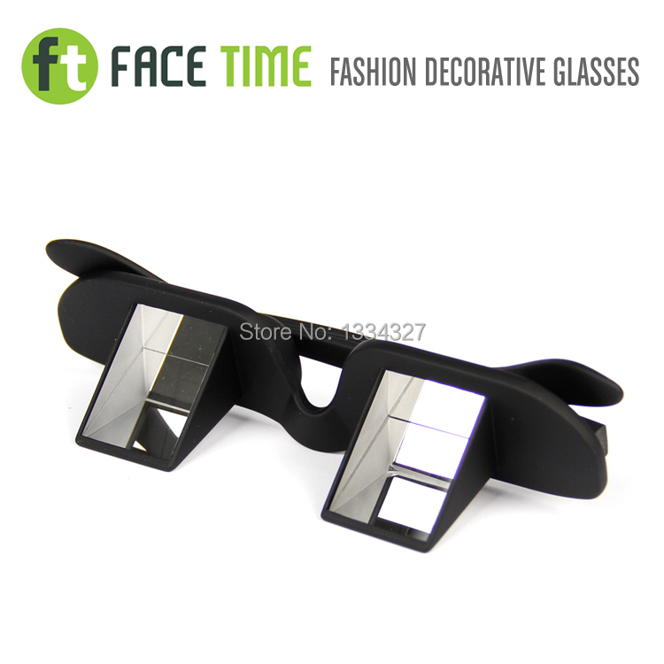 Facetime lazy mirror TV glasses prevent cervical spondylosis Lying down watching TV lying glasses standard size lazy glasses(China (Mainland))