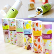 Mini Portable Compact Cute Lipstick Shape Handheld Cooling Fan Small Battery Power Operated Cooler(China (Mainland))