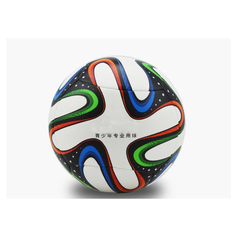 Hot Sale PU Football Ball Young Men Soccer Ball Size 5 High Quality Soccer Ball for Young Men Outdoor Trainning Futbol(China (Mainland))
