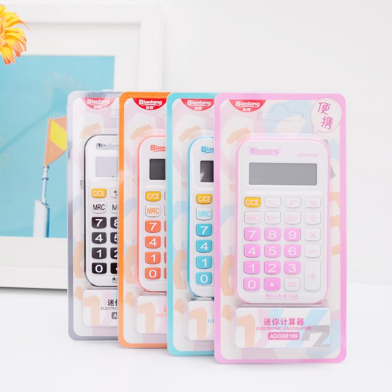 12 Digits Mini Calculator Solar Hesap Makinesi Calculadora Cientifica Office Calcolatrice Cute Kalkulator Student Rekenmachine(China (Mainland))