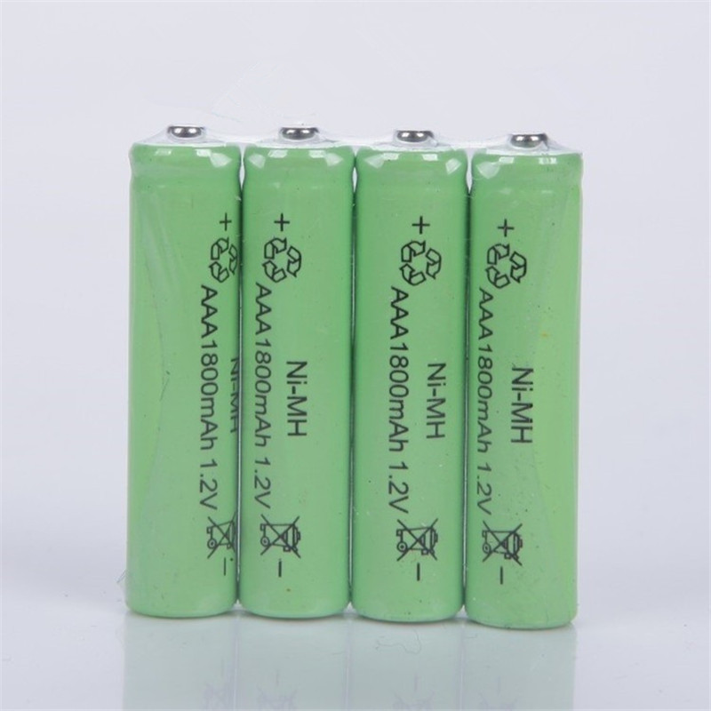 12PCS Ni-MH 1.2V AAA Rechargeable1800mAh 3A Neutral Battery Rechargeable battery ,Free shipping(China (Mainland))