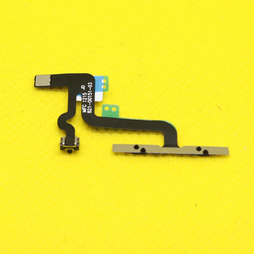 """WP-149  Power Volume Mute Control Silent Button Flex Cable Replacement Repair Parts For iPhone 6S Plus 5.5"""""""