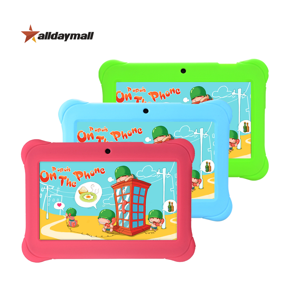 "Alldaymall 7"" Tablet for Kids Children Educational Apps Android 4.4 1GB RAM 8GB ROM Quad Core Tablet PC 7 inch With Casa Gift(China (Mainland))"