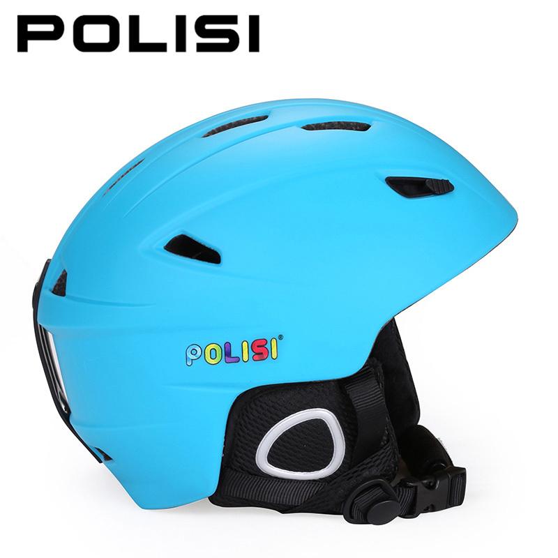 POLISI Professional Children Kids Skiing Snowboarding Helmet Skate Ski Snow Helmet Ultralight Outdoor Sports Safety Helmet(China (Mainland))