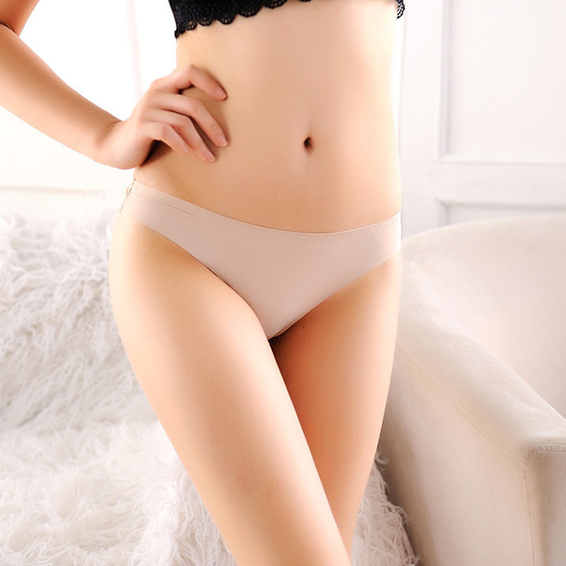 NEW Ultra Thin Panties Seamless Women A Female T Pants Low Waist Invisible Underwear Summer Ladies