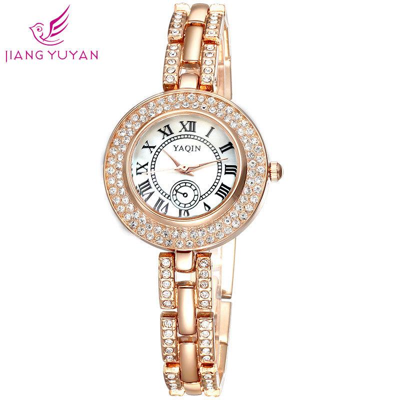 YAQIN brand fashion watch bracelet table retro Rome female Digital Dial Watch<br><br>Aliexpress