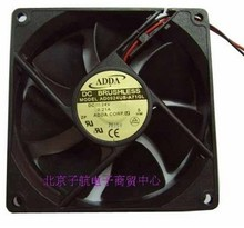 Used Free Shipping DC12V 0.20A Server Cooling Fan For ADDA AD5012UB-D70 Server Square Fan 2-wire 50x50x15mm