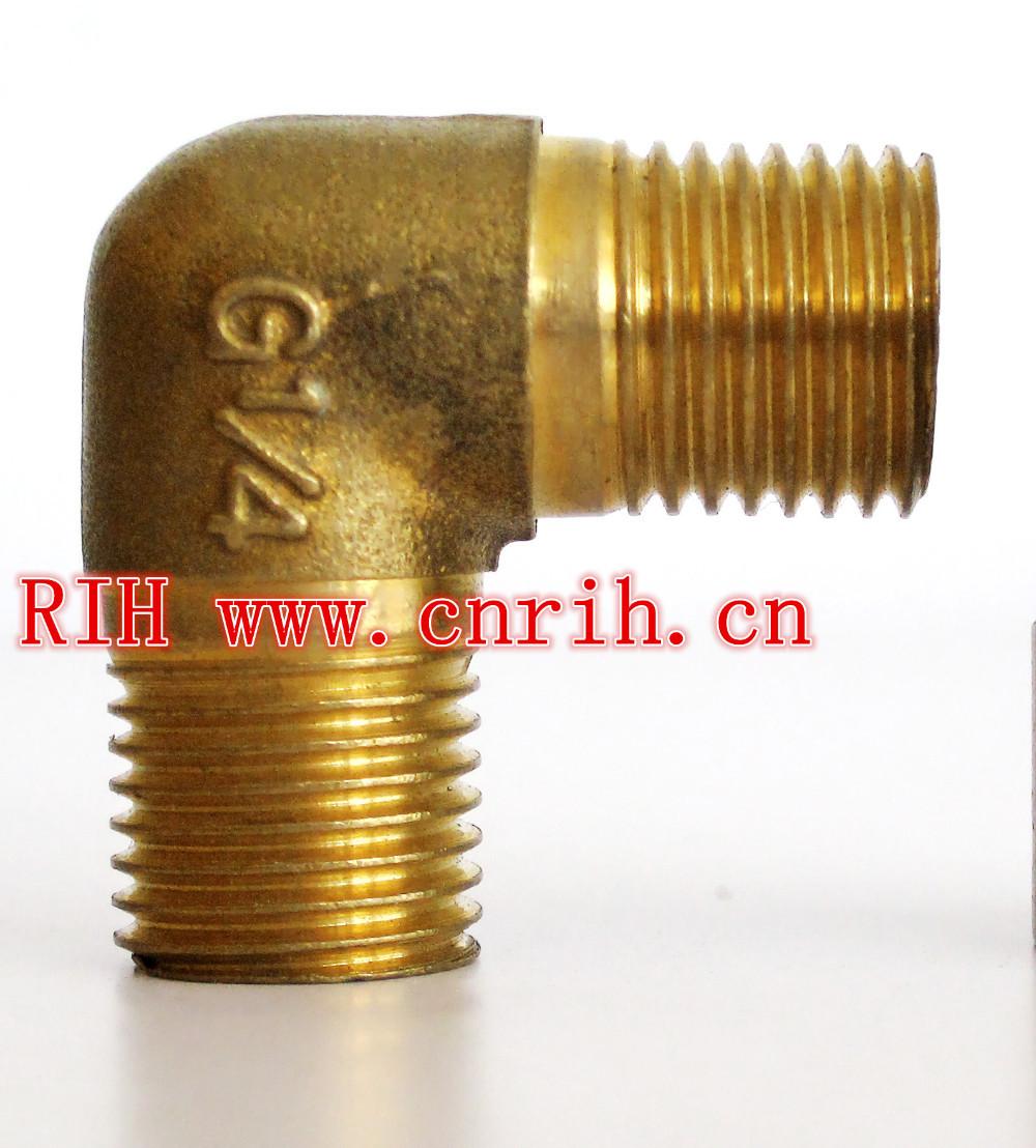 Right Pneumatics Screw Port  Thread Connector Series  External  Silk Elbow 1/8