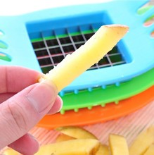 Stainless Steel Vegetable Potato Slicer Cutter Chopper Chips Making Tool Potato Cutting Fries Tool Kitchen Accessories KT-1026