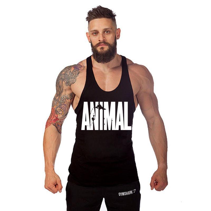 Golds Tank Top Men Bodybuilding Fitness Singlets Vest Stringer Tops - the famous shop store