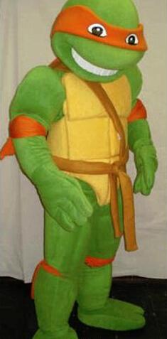 Fast EMS Shipping Teenage Mutant Ninja Turtle Mascot Costume Adult Character - OISK MASCOT store