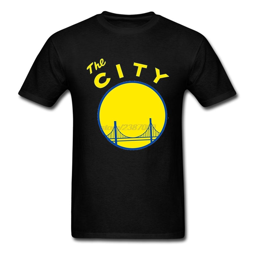 Golden State San Francisco The City California Clothing New Design Men 100% Cotton T Shirt Low Price Short Sleeve Man T Shirt(China (Mainland))