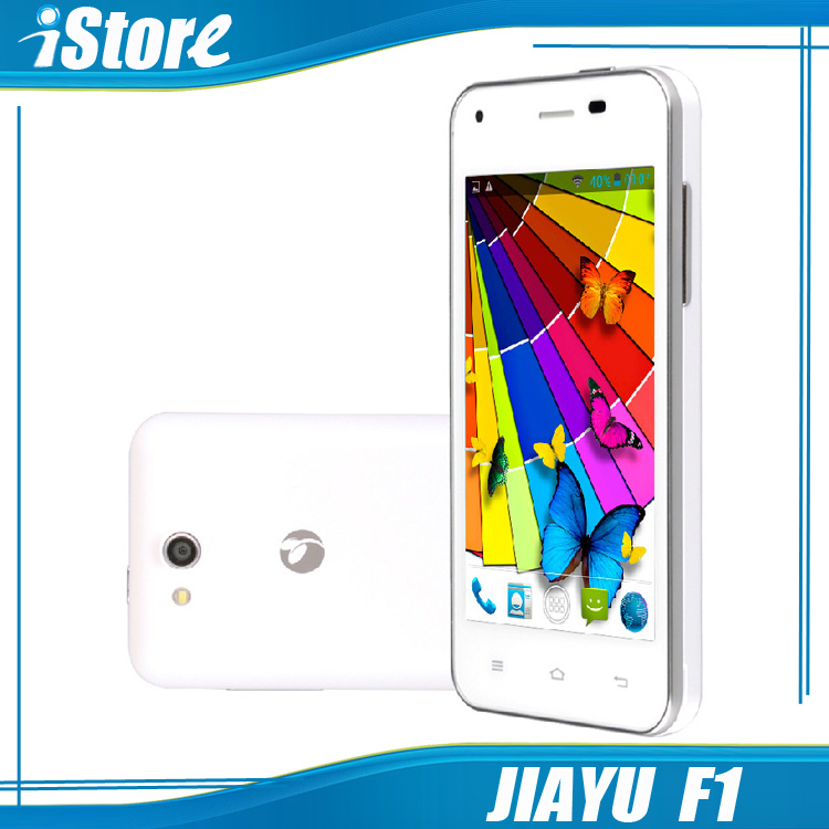 JIAYU F1 F1W 3G WCDMA Cell Phone Dual SIM Dual Core Android Smart Mobile Phones Metal Frame Russian Spanish Polish In Stock(China (Mainland))