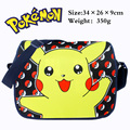 Colorful Pocket Monster Pokemon polyester shoulder bag printed w Pikachu Poke Ball Type F