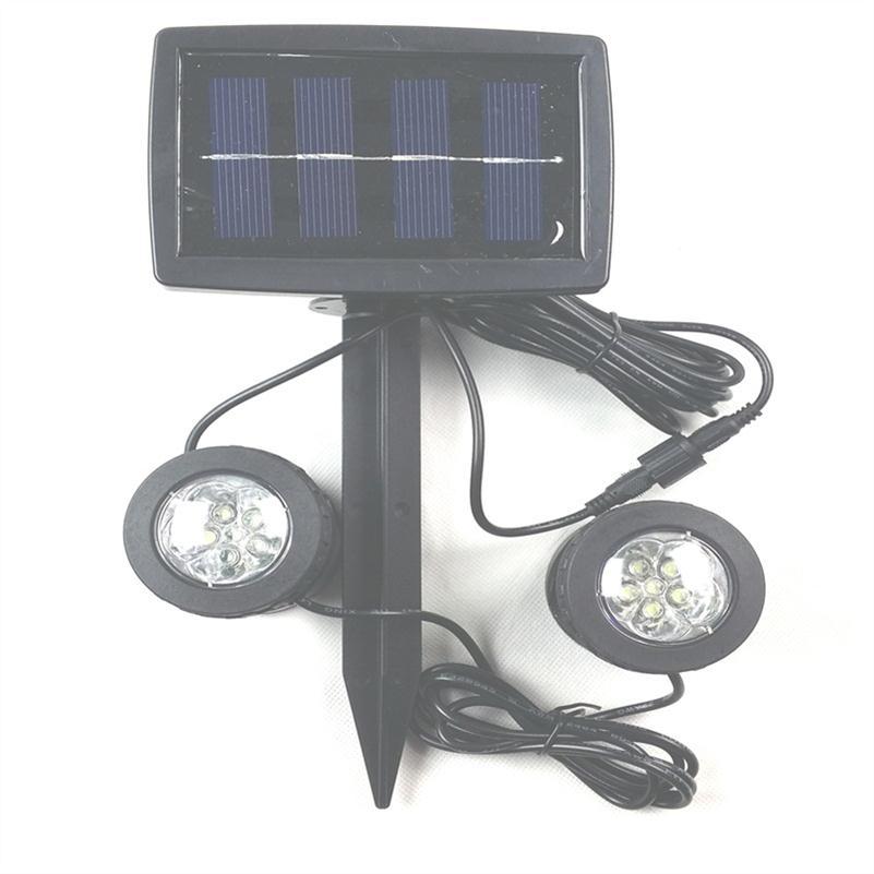 Solar powered underwater lights lawn garden courtyard plug lamparas solares exterior 1 solar - Lampara solar exterior ...