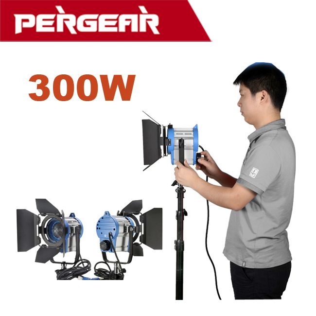 300W Fresnel Focusable SpotLight Photography Studio Video Light AS ARRI Fresnel Focusable Spot Light for Photography Studio(China (Mainland))