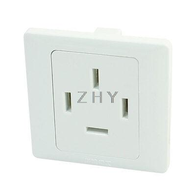 AC 440V 25A Multifunction Wall Panel Modular Socket Outlet White(China (Mainland))