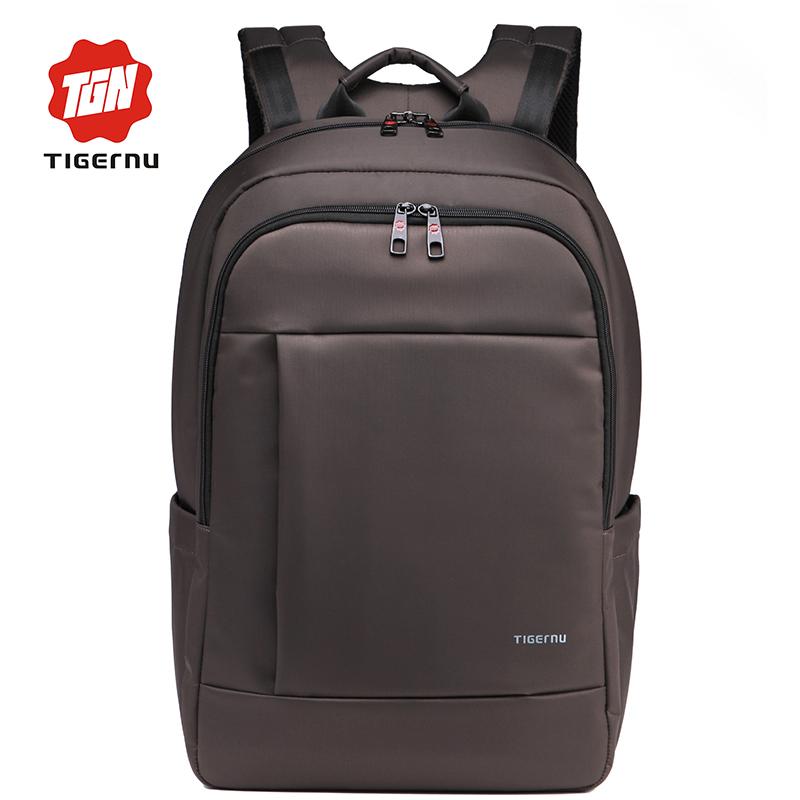 Tigernu Men Backpack Fashion Anti-theft Travel Bag School bag for Teenagers Mochila Book Schoolbag(China (Mainland))