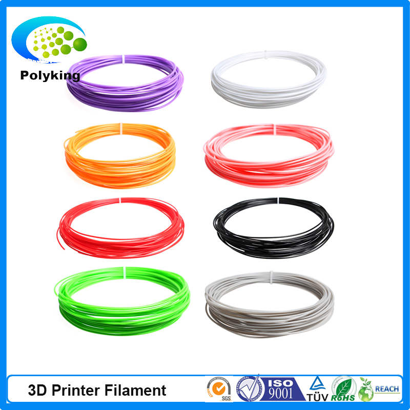 20 Colors 10Meters 5pcs lot ABS Filament PLA Filament 1 75mm for 3D Printer 3D Printing