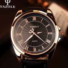 2016 YAZOLE  Brand LuxuryMens Watches  Famous Quartz Watch Men Wristwatches Male Clock Wrist Watch Quartz-watch