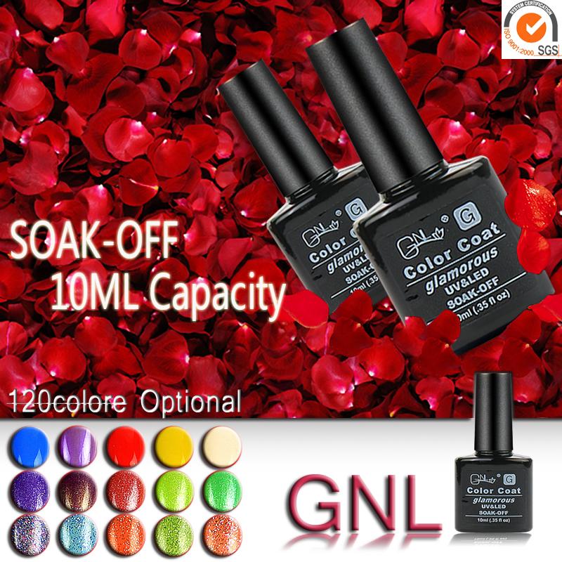 Nail Gel Polish UV&LED Shining Colorful 120 Colors10ML Long lasting soak off Varnish cheap Manicure