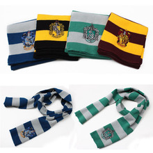 Hot Harry Potter Scarf Scarves Gryffindor Hufflepuff Slytherin Knit Scarves Cosplay Costume Gift for Teenagers(China (Mainland))