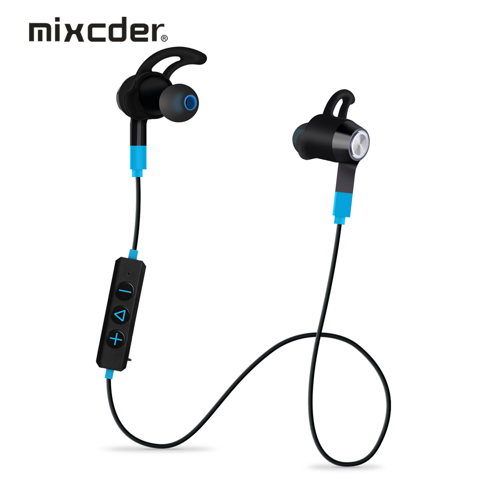 Mixcder Flyto Wireless Sport Earphones Bluetooth Headphones with 8-Hour Playtime and Sweatproof Headphones for Running/ Gym(China (Mainland))