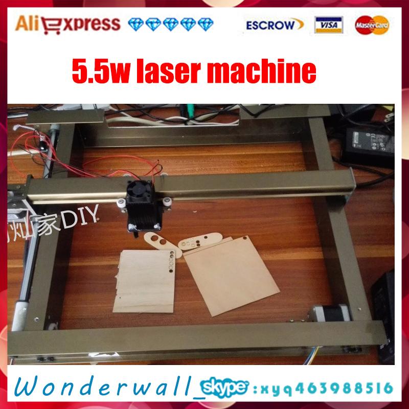 5.5W AS-4, 30cm*23cm , big DIY laser engraving machine,diy marking machine ,diy laser engrave machine,advanced toys(China (Mainland))