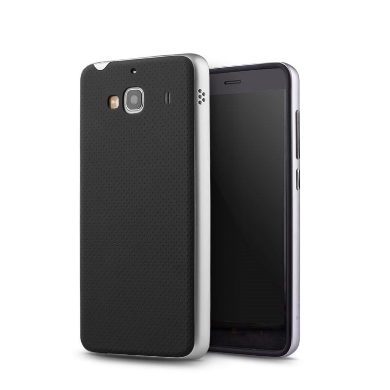 iPaky Original Redmi 2 PC Frame + Silicone Hybrid Back Cover Cellphone Case for Xiaomi Redmi 2(China (Mainland))