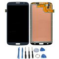 Replacement LCD Touch Digitizer Screen Assembly For Samsung Galaxy Mega 6 3 i527 i9200 i9205 Blue