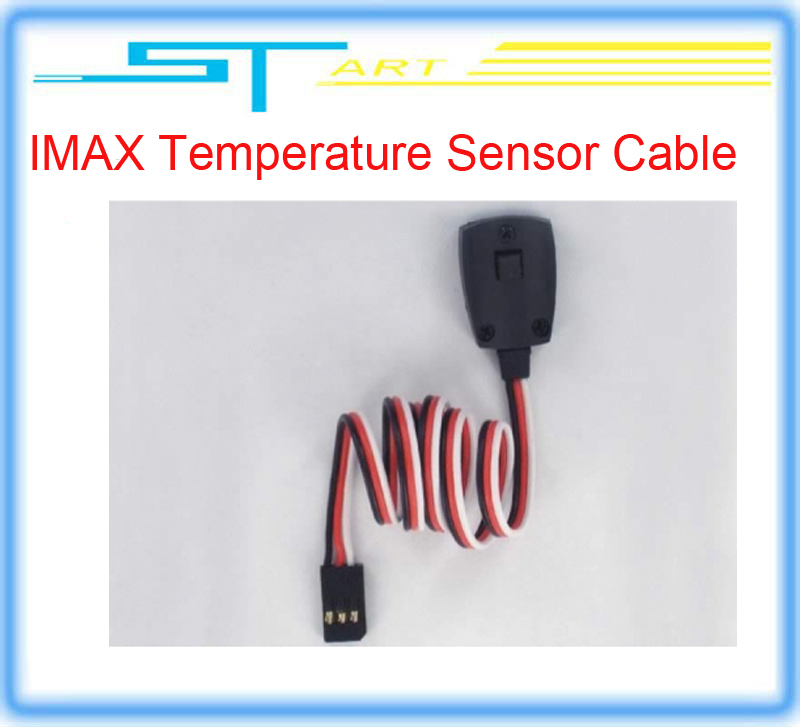 Гаджет   IMAX Temperature Sensor Cable with Magnet Temperature Probe Cable Cord Sensor for SKYRC B6  B6AC T6200 Charger low shipping fee None Игрушки и Хобби