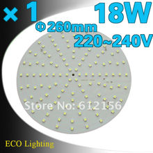 Free Shipping + 18W SMD5050 LED Magnetic Ceiling Plate Circular Tube  Lights Board+Replace To 32W traditional 2D Circular Tube(China (Mainland))