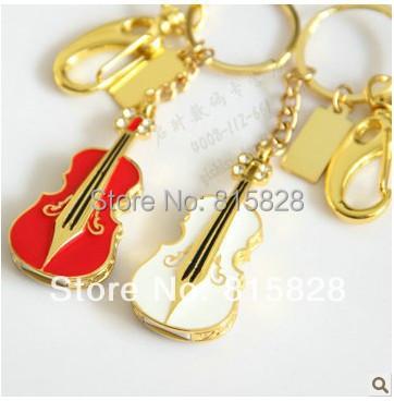 NEW 2015 Red Violin usb flash drive pen drive creative personality style usb 2.0 memory card flash drive usb Fashion pen drive(China (Mainland))