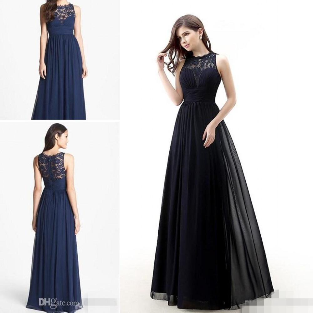 Image Result For Black And Blue Bridesmaids Dresses