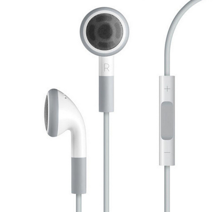High Quality EarPods Earphone handsfree with Mic For apple iphone 4/4S/5/5S/6/6 plus MobilePhone headphones ipod fone de ouvido(China (Mainland))
