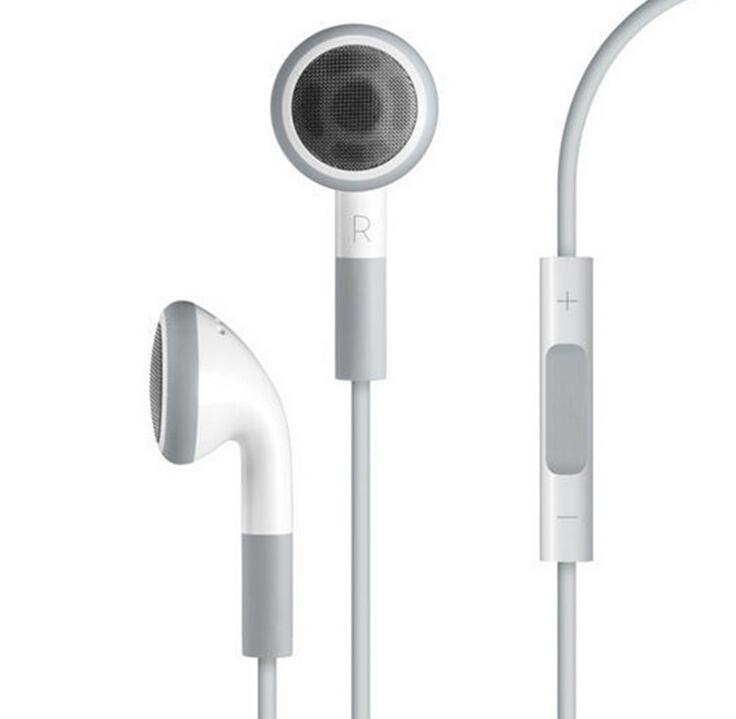 Hot original EarPods Earphone handsfree with Mic For apple iphone 4/4S/5/5S/6/6 plus MobilePhone headphones ipod fone de ouvido(China (Mainland))