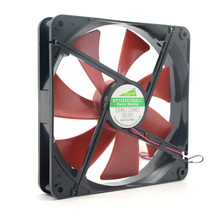 high quality Best silent quiet 140mm pc case cooling fans 14cm DC 12V 4D plug computer coolers(China (Mainland))