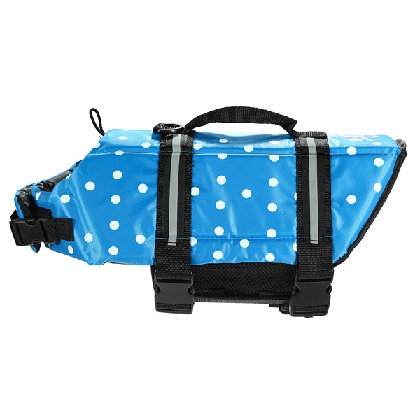 Lowest Price Dog Pet Life Saver Safety Jacket Vest Clothing Swimming Preserver Boating Beach Durable(China (Mainland))